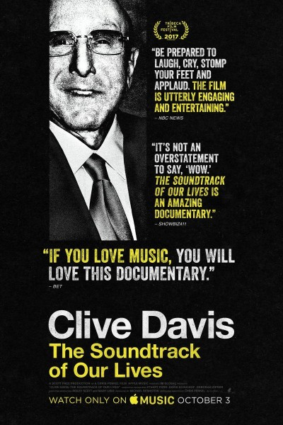 Caratula, cartel, poster o portada de Clive Davis: The Soundtrack of Our Lives