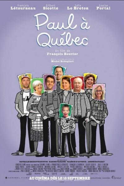 Caratula, cartel, poster o portada de Paul à Québec