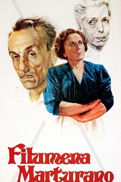 Caratula, cartel, poster o portada de Filumena Marturano
