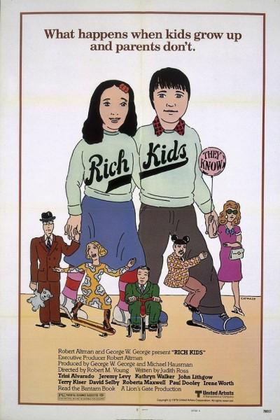 Caratula, cartel, poster o portada de Niños ricos