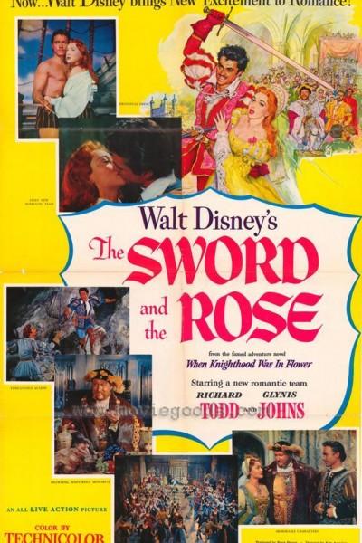 Caratula, cartel, poster o portada de La espada y la rosa