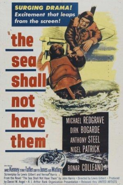 Caratula, cartel, poster o portada de The Sea Shall Not Have Them