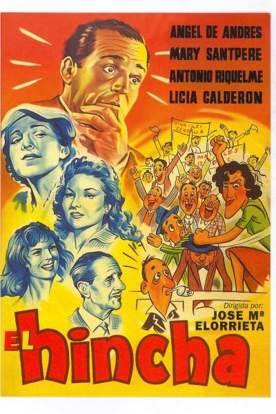 Caratula, cartel, poster o portada de El hincha