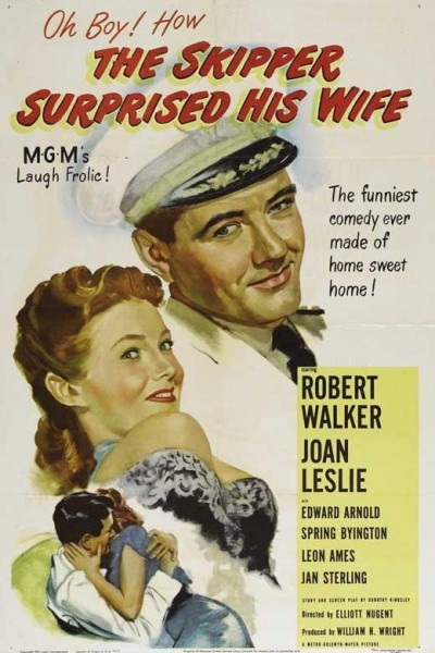 Caratula, cartel, poster o portada de The Skipper Surprised His Wife