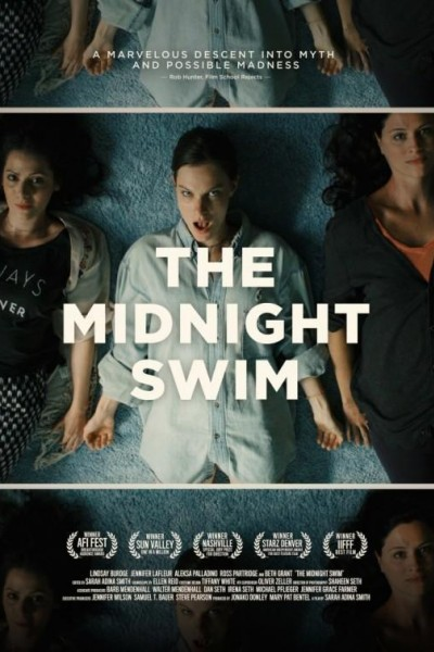 Caratula, cartel, poster o portada de The Midnight Swim