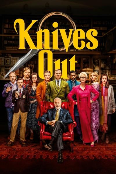 Caratula, cartel, poster o portada de Puñales por la espalda (Knives Out)