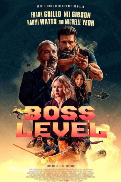 Caratula, cartel, poster o portada de Boss Level