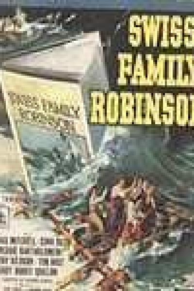 Caratula, cartel, poster o portada de La familia Robinson