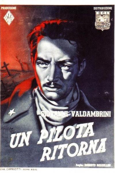 Caratula, cartel, poster o portada de Un piloto regresa