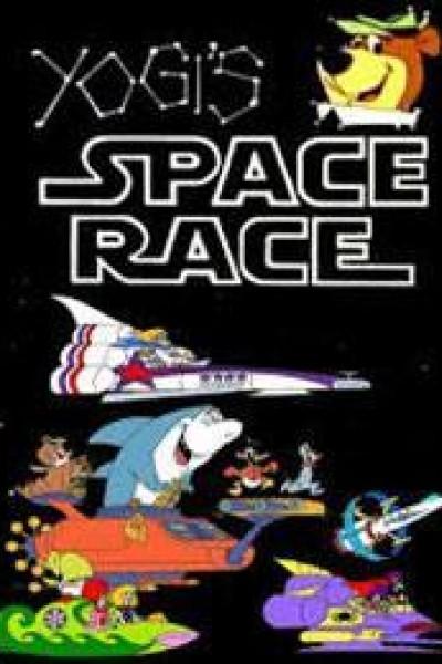 Caratula, cartel, poster o portada de La Carrera Espacial de Yogi