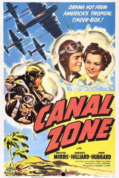 Caratula, cartel, poster o portada de Canal Zone