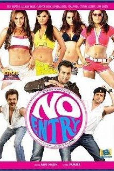 Caratula, cartel, poster o portada de No Entry