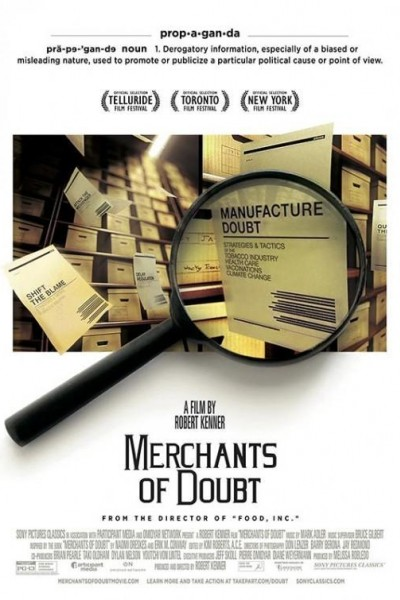 Caratula, cartel, poster o portada de Merchants of Doubt (Ciencia a sueldo)