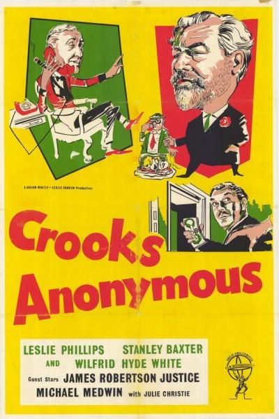 Caratula, cartel, poster o portada de Ladrones anónimos
