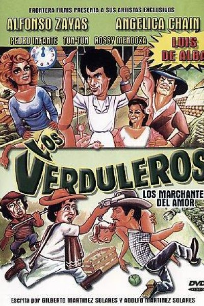 Caratula, cartel, poster o portada de Los verduleros