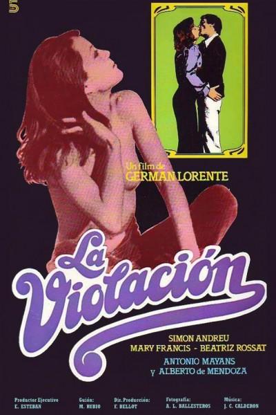 Caratula, cartel, poster o portada de La violación