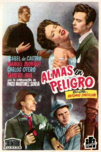 Caratula, cartel, poster o portada de Almas en peligro