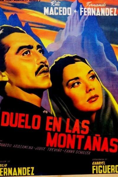 Caratula, cartel, poster o portada de Duelo en las montañas