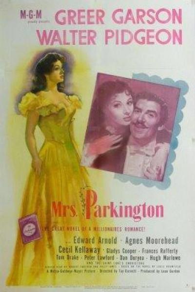 Caratula, cartel, poster o portada de La señora Parkington