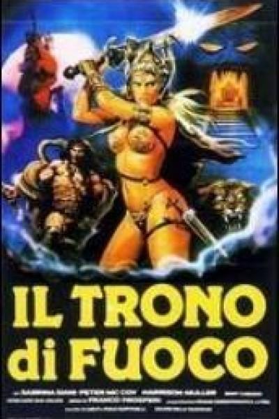 Caratula, cartel, poster o portada de El trono de fuego