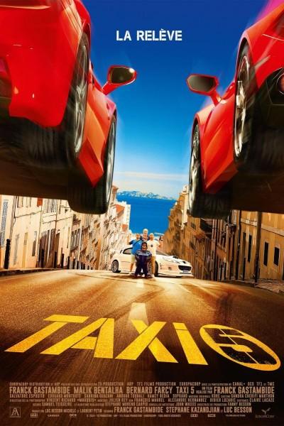 Caratula, cartel, poster o portada de Taxi 5