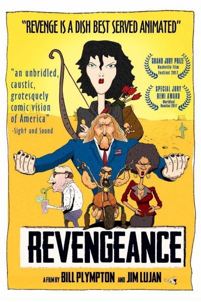 Caratula, cartel, poster o portada de Revengeance
