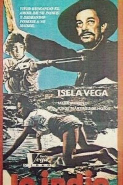 Caratula, cartel, poster o portada de La India