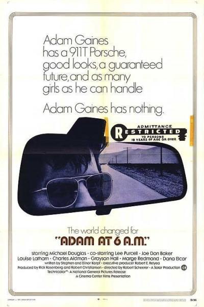 Caratula, cartel, poster o portada de Adam a las 6 de la madrugada