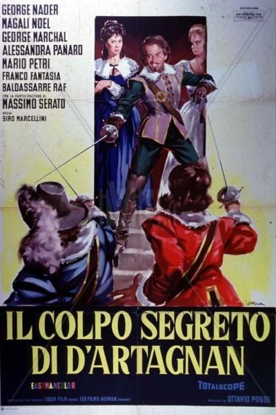 Caratula, cartel, poster o portada de El golpe secreto de D\'Artagnan