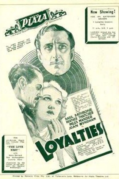 Caratula, cartel, poster o portada de Loyalties