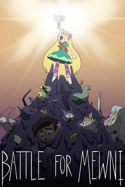 Caratula, cartel, poster o portada de Star contra las Fuerzas del Mal: La batalla por Miauni
