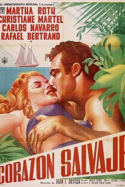 Caratula, cartel, poster o portada de Corazón salvaje