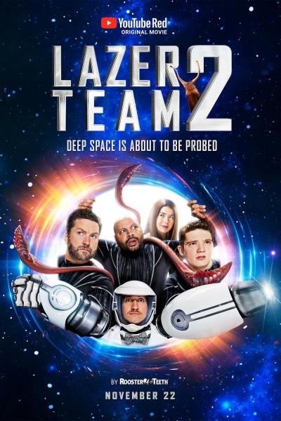 Caratula, cartel, poster o portada de Lazer Team 2