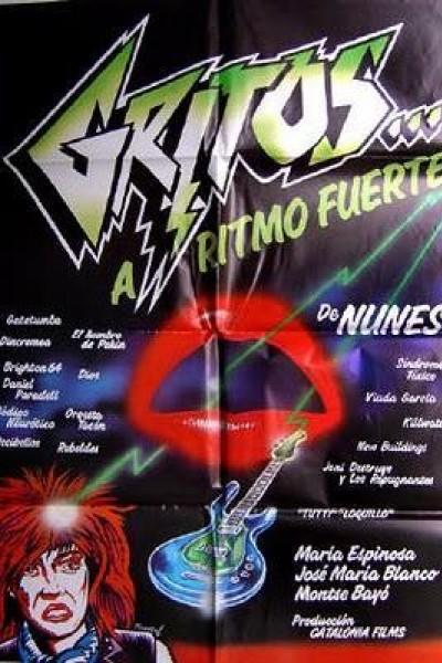 Caratula, cartel, poster o portada de Gritos... a ritmo fuerte