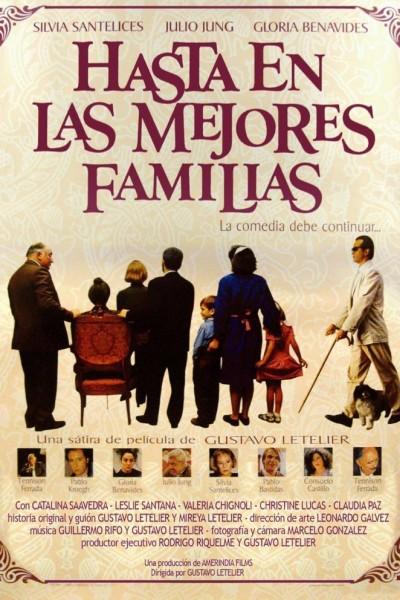 Caratula, cartel, poster o portada de Hasta en las mejores familias
