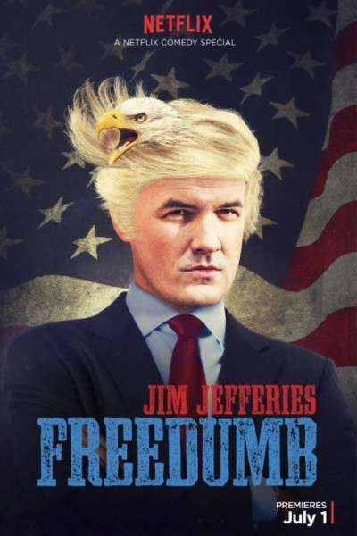 Caratula, cartel, poster o portada de Jim Jefferies: Freedumb
