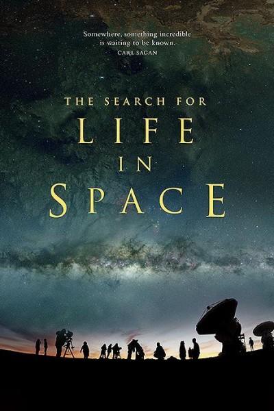 Caratula, cartel, poster o portada de The Search for Life in Space
