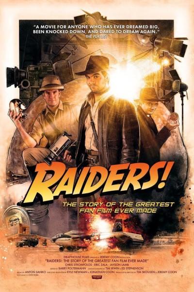 Caratula, cartel, poster o portada de Raiders!: The Story of the Greatest Fan Film Ever Made