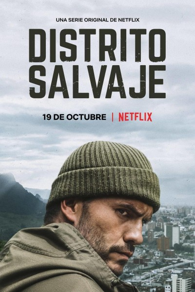 Caratula, cartel, poster o portada de Distrito Salvaje
