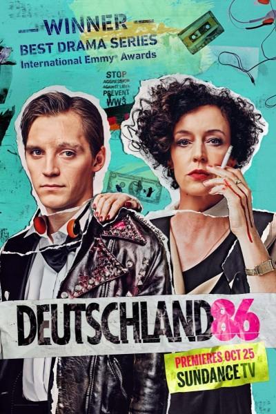 Caratula, cartel, poster o portada de Deutschland 86