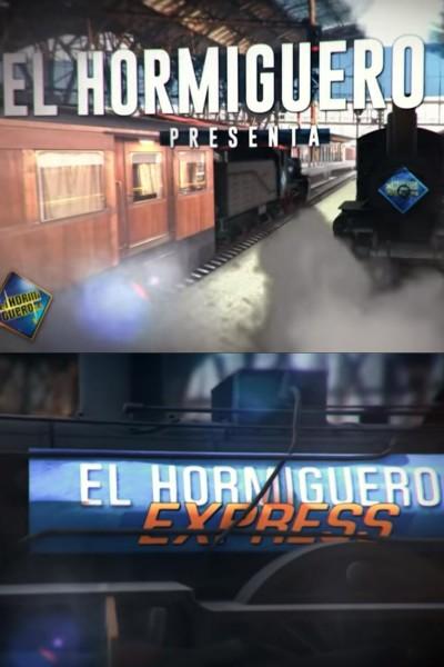 Caratula, cartel, poster o portada de Asesinato en el Hormiguero Express