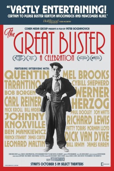 Caratula, cartel, poster o portada de El gran Buster