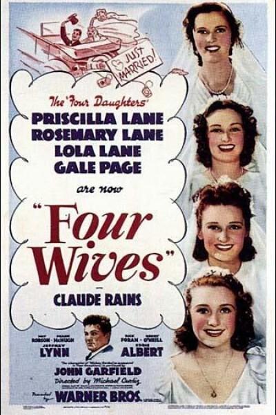 Caratula, cartel, poster o portada de Cuatro esposas