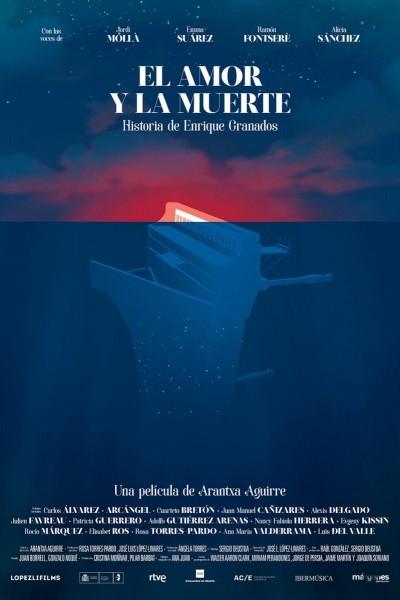 Caratula, cartel, poster o portada de El amor y la muerte. Historia de Enrique Granados