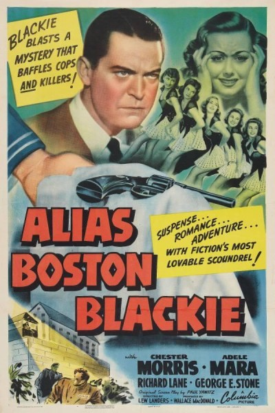 Caratula, cartel, poster o portada de Alias Boston Blackie