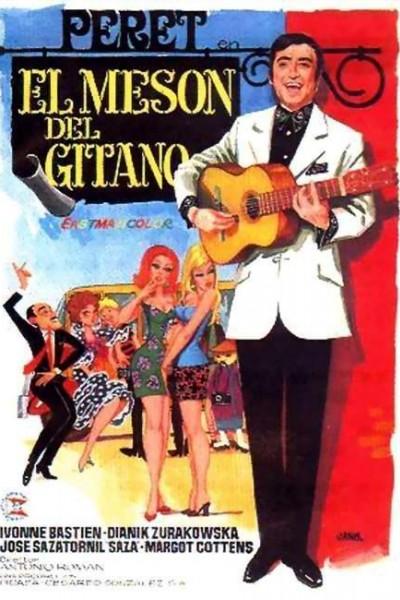 Caratula, cartel, poster o portada de El mesón del gitano