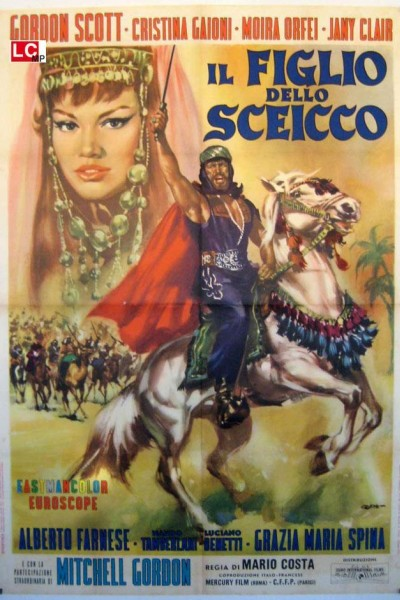 Caratula, cartel, poster o portada de El hijo del caíd