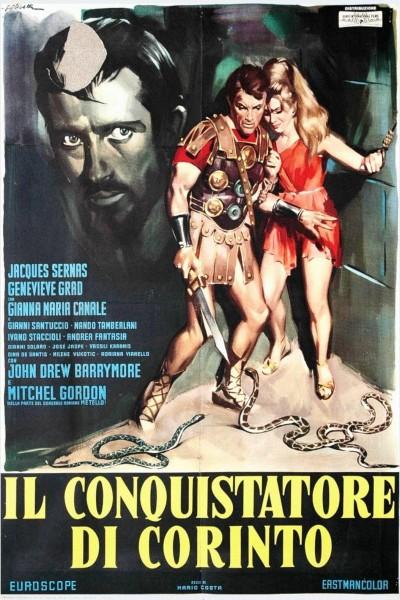 Caratula, cartel, poster o portada de La destrucción de Corinto