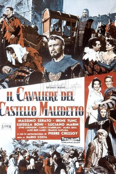 Caratula, cartel, poster o portada de El caballero del castillo maldito