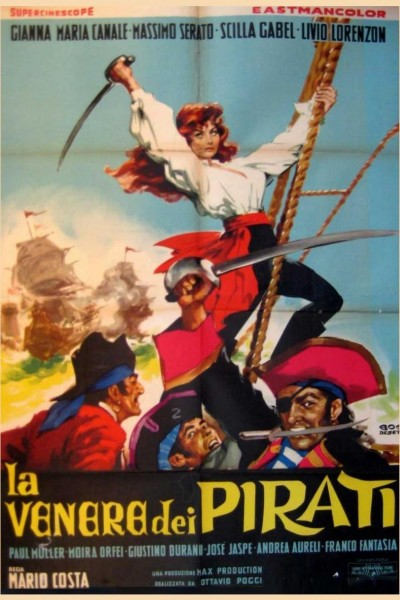 Caratula, cartel, poster o portada de La mujer pirata (La reina de los Piratas)